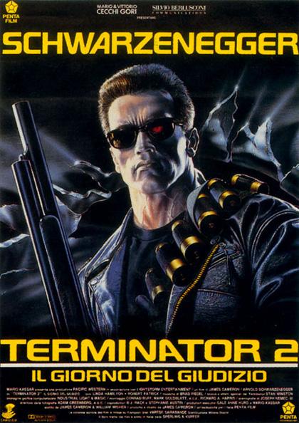 Locandina italiana Terminator 2 - Il giorno del giudizio
