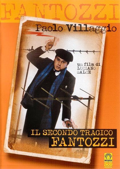 Locandina italiana Il secondo tragico Fantozzi