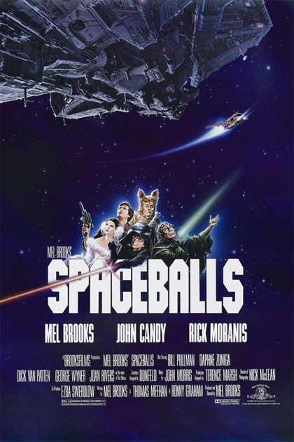 Trailer Balle spaziali