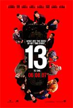 Poster Ocean's 13  n. 1