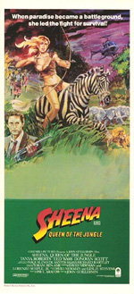 Locandina Sheena, regina della giungla