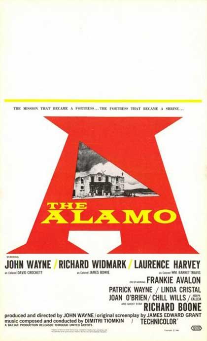 Poster La battaglia di Alamo
