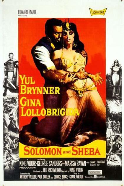 Poster Salomone e la regina di Saba