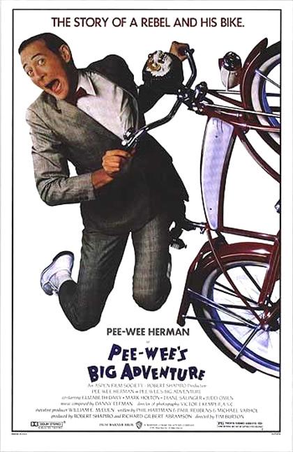 Trailer Pee-Wee's Big Adventure