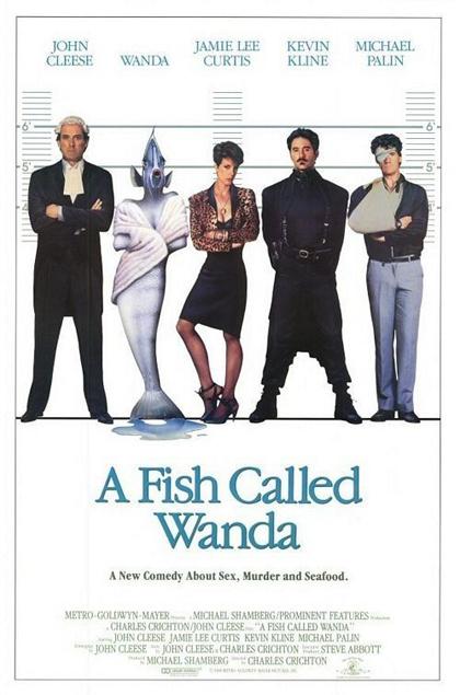 Locandina italiana Un pesce di nome Wanda
