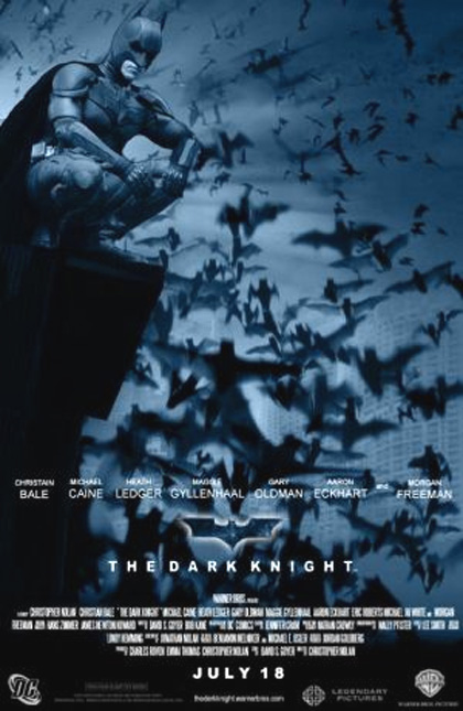 Poster Il cavaliere oscuro