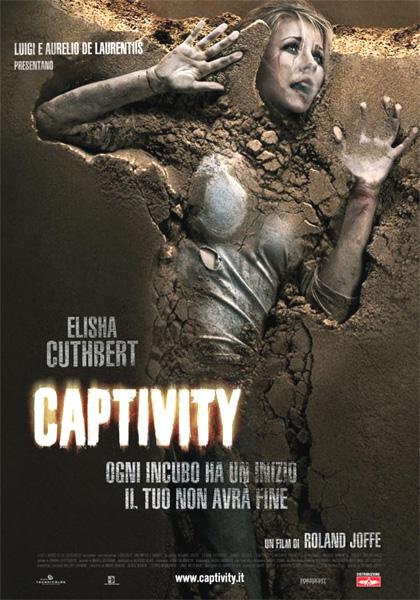 Locandina italiana Captivity