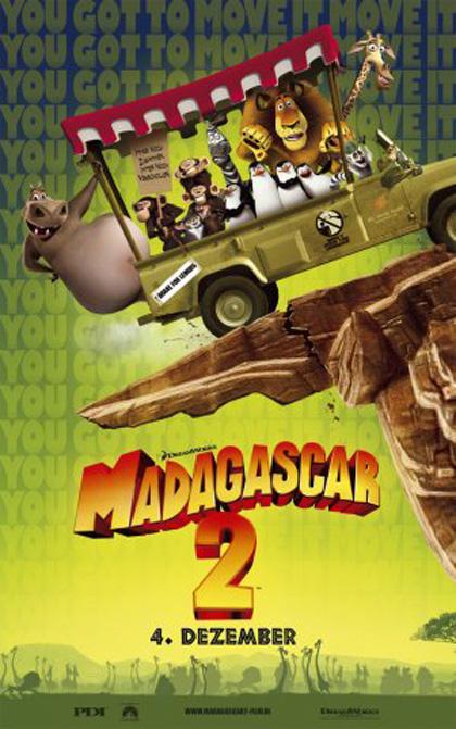 Poster Madagascar 2