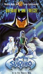 Locandina Batman e Mr. Freeze