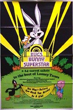 Locandina Bugs Bunny Superstar