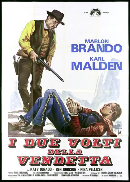 Locandina italiana I due volti della vendetta