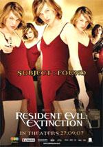 Poster Resident Evil: Extinction  n. 10
