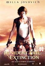 Poster Resident Evil: Extinction  n. 17