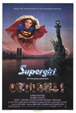 Locandina Supergirl - La ragazza d'acciaio