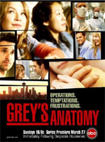 Poster Grey's Anatomy - Stagione 3  n. 0