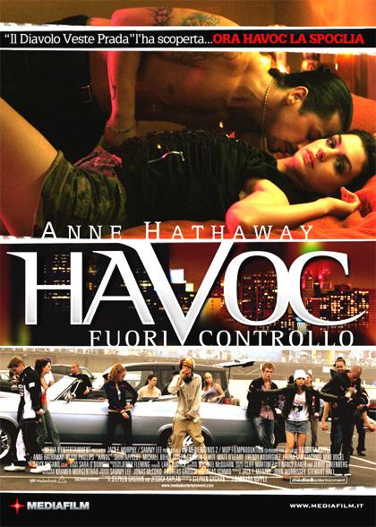 Locandina italiana Havoc - Fuori controllo