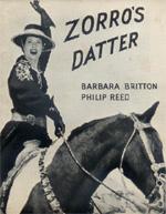 Locandina La figlia di Zorro