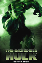 Poster L'incredibile Hulk  n. 11