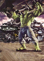 Poster L'incredibile Hulk  n. 15