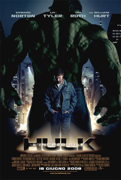 Risultato immagini per l'incredibile hulk