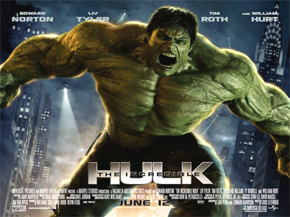 Poster L'incredibile Hulk