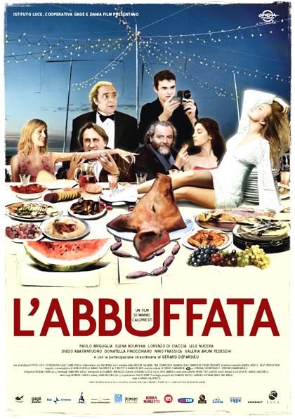 Locandina italiana L'abbuffata