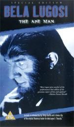 Locandina L'uomo scimmia