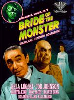 Locandina The Bride of the Monster - La sposa del mostro