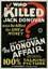 Poster L'affare Donovan