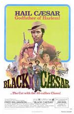 Locandina Black Caesar il padrino nero