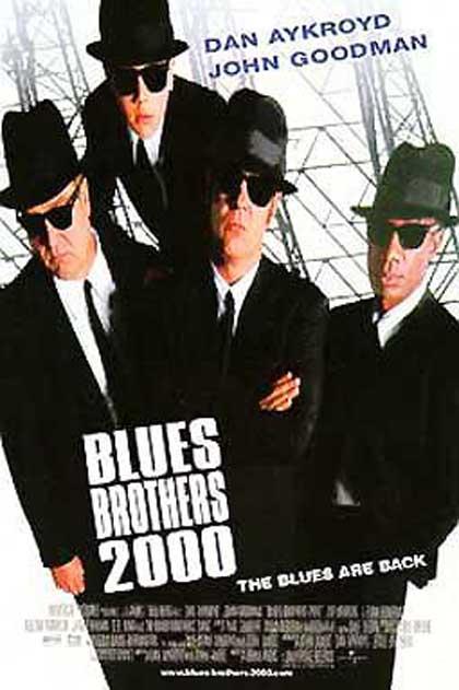 Poster Blues Brothers - Il mito continua