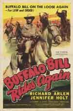 Locandina Buffalo Bill ancora in sella