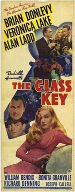 Locandina La chiave di vetro