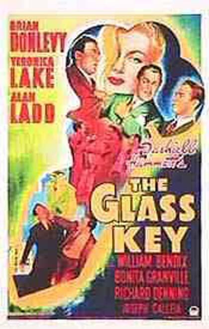 Poster La chiave di vetro