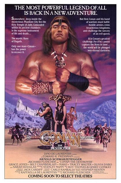 Locandina italiana Conan il distruttore
