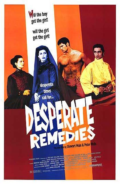 Locandina italiana Desperate Remedies