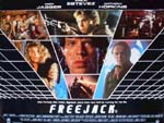 Locandina Freejack - In fuga nel futuro