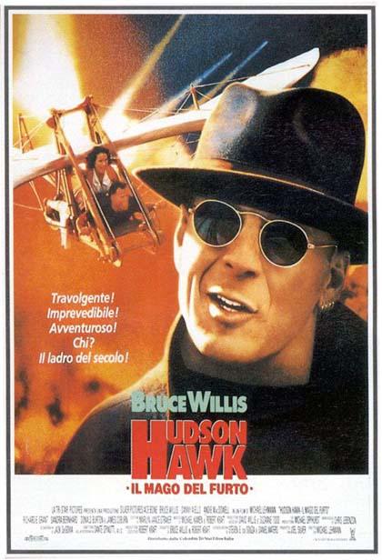 Locandina italiana Hudson Hawk - Il mago del furto