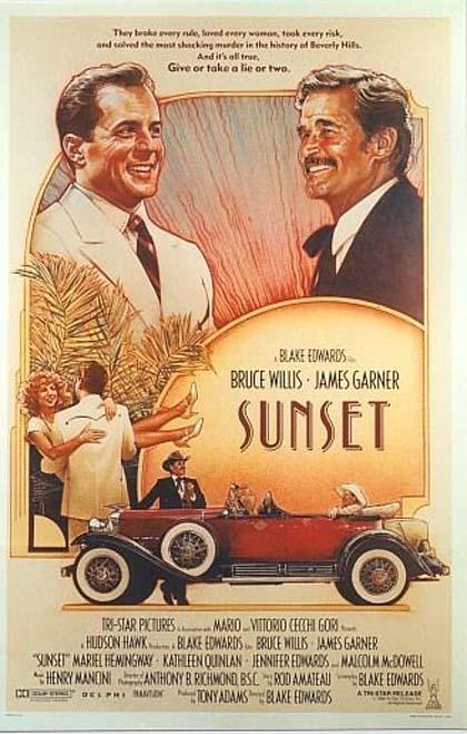 Locandina italiana Sunset - Intrigo a Hollywood