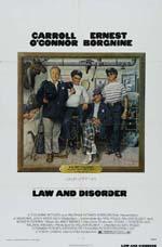 Locandina Legge e disordine