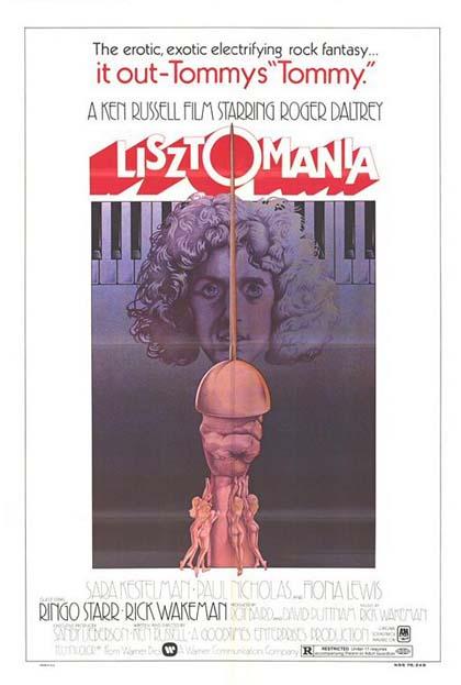 Poster Lisztomania