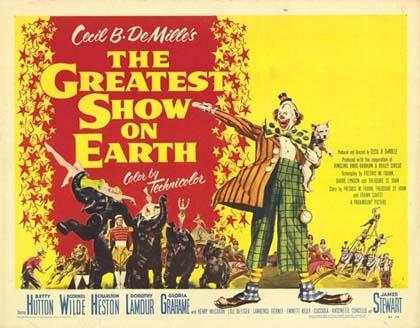 Poster Il più grande spettacolo del mondo
