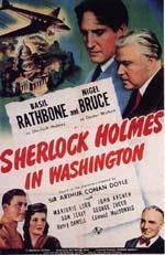Poster Sherlock Holmes a Washington  n. 0