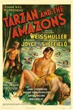 Locandina Tarzan e le amazzoni