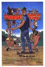 Locandina Ernesto guai in campeggio