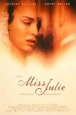 Locandina Miss Julie