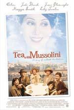 Locandina Un tè con Mussolini