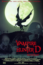 Poster Vampire Hunter D - Bloodlust  n. 1