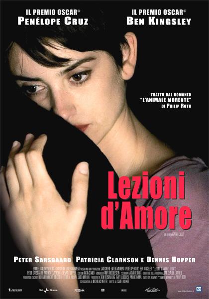 Locandina italiana Lezioni d'amore