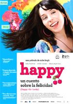 Poster La felicità porta fortuna - Happy Go Lucky  n. 2